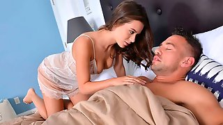 Lana Rhoades Fucking In The Bedroom With Her Natural Tits
