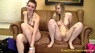 These Girls Are Attending A Porn Casting