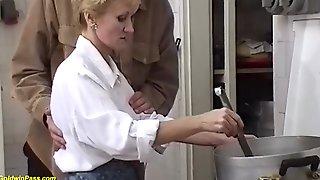 Hairy Bush Moms First Big Cock Sex