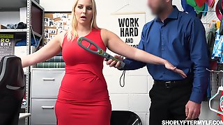 Gorgeous Milf Vanessa Cage Gets Fucked And Jizzed For Shoplifting