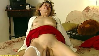 Hairy Bush 81 Years Old German Grandma Gets Wild And Deep Fucked In Crazy Sex Positions