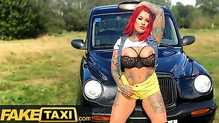 Fake Taxi Sabien Demonia Gives Taxi Driver A Big Boobs Surprise