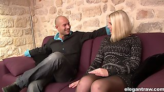 Nice Tits Blondie Lucy Heart Gets Her Pussy And Mouth Fucked