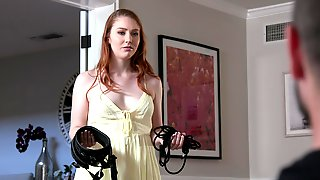 Softcore Bondage And Frisky Fucking For Ginger Fox Arietta Adams