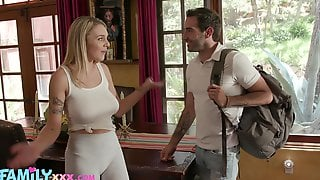Barely Legal Teen With Natural Boobs Gabbie Carter Bangs Her Stepbrother