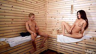 Daisy Taylor - Sauna Spy