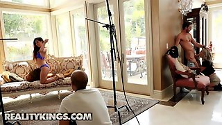 Reality Kings - Intern Gabbie Carter Gets Drilled Behind The Scenes Off Shoot