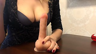 Edging Jerk Off Instructions. Five Seconds Game By Julia