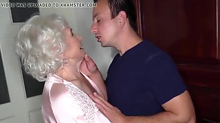 OBSERVE BRIEFLY UTTER FLICK! Granny Norma Cheats On Her Spouse