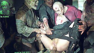 Horror Porn Zombie Strike Origin