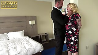 Hardcore Fucking On The Bed With Round Ass Blonde Babe Loula Lou