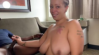 Large-Breasted MILF Interracial Sex