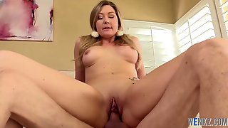 Teen Drenches Cock With Her Spit