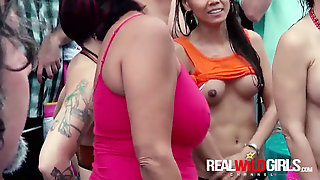 Raw Pussy Contest Insane Sluts Out Of Manage Pool Party!