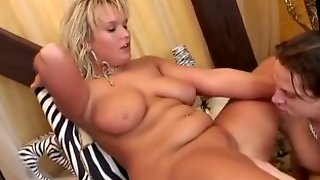 YOUNG BUSTY - Young And Busty Scarlett Gets Facialized