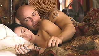 Beautiful Young Angel With Round Bottom Stevie Foxx Fucked On The Sofa