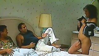 Hermaphrodite Fucks With Two Men