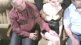 Groped Sexy Tits At The Cinema