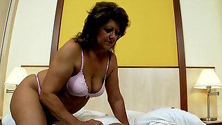 Gigi Moans In Pleasure During Sex