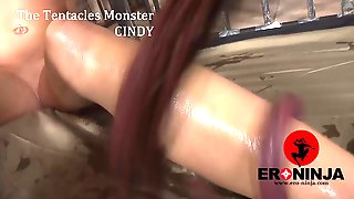 Cindy Loarn & Tentacles Monster