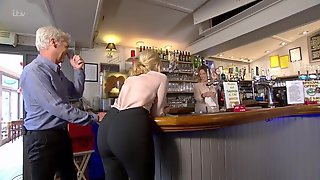 Holly Willoughby At The Bar