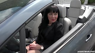 Berenice Is A Black Haired Mature Who Likes Sex In A Doggy Style Position, After A Blowjob