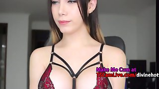 Must See Colombian Cute Big-Tits Trans Teen Live On WebCam, Part 2
