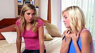 Chloe Foster & Lia Lor - Wet Panties Trib 5