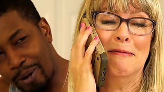Housewife Whore Rammed By Black Knob - Jamie Foster