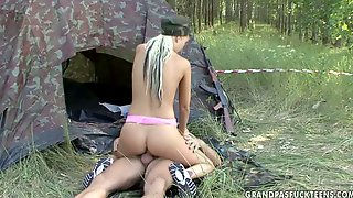 An Odd Couple Go On A Camping Weekend For Sex