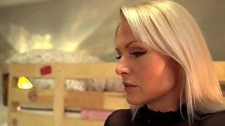 Australian Blonde Isabelle Deltore Straponed By Landlady Kathy Anderson