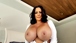 Mom With Huge Tits, Insane Home XXX With Step Son
