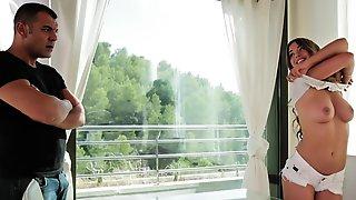 Euro Stud Violates Landlords Rule Of Not Fucking Roommates