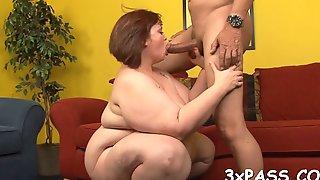 Man Bangs Sexy Fat Hottie Film Video 2