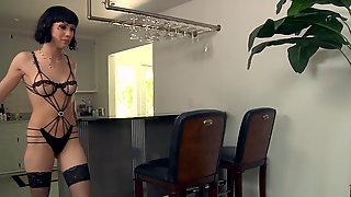 Asphyxia Noir Discovers Anal Sex