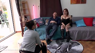 La France A Poil - Casting Of A Squirt Student Redhead