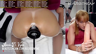 [USA] MATURE She-creature Boinked Rock Hard BY A MONSTER BLACK DILDO !!!