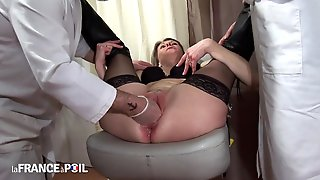 Mathilde Hot MILF Gyno Exam Porn Video