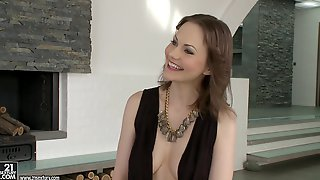 Tina Kay Gives Head To A Guy And Lets Him Fuck Her Vag From Behind