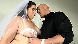 Fat Girl In A Wedding Dress Banged Hard