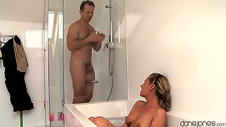 Erotic Fucking In The Bathroom With Cock Hungry Blondie Zuzana Z