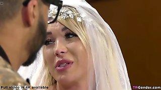 Trans Bride Fucks The Black Wedding