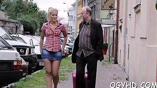 Attractive  Russian Floosy And Her Horny Fervor