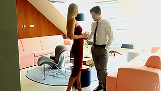 Michael Fly & Verena Maxima In Pour Me A Drink - NubileFilms