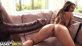 BANGBROS - Aleska Diamond Returns To Monsters Of Cock For More BBC Anal