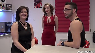 Rose In Hot Couple Threesome With Teen Girl