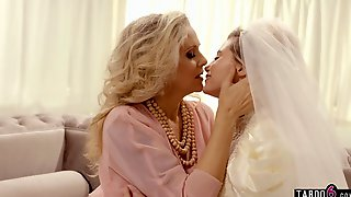 On Her Wedding Day Stepmom Munched Daughters Labia