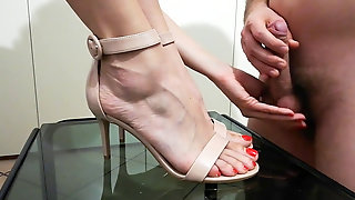 I Get My Shoes Ejaculated By My Sub