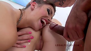 Susan Ayn & Elena Gilbert Addicted To Butt Sex Pissing And Hard Cocks