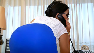 Big Boobs Asian T-girl Secretary Tata Anal Fucked In The Office